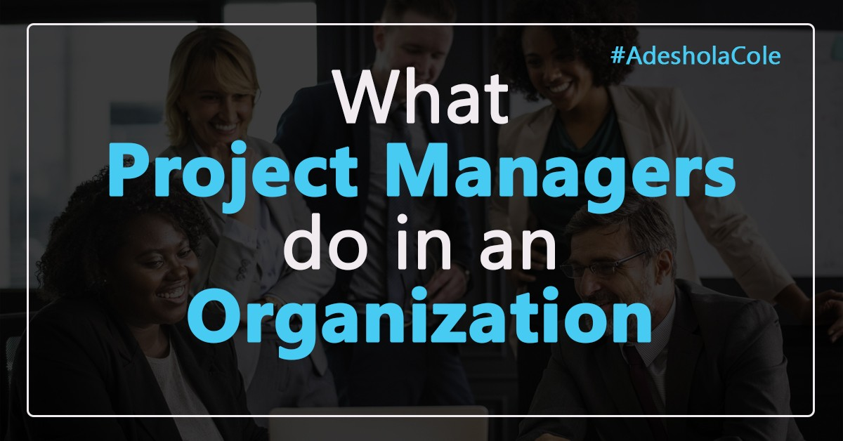 what project managers do